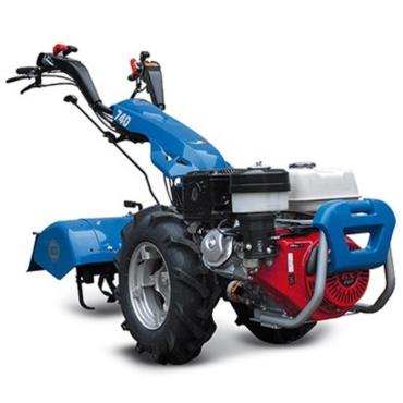 Motocultor BCS 740 PS GX390 ALPINA + Freza de pamant 80 cm